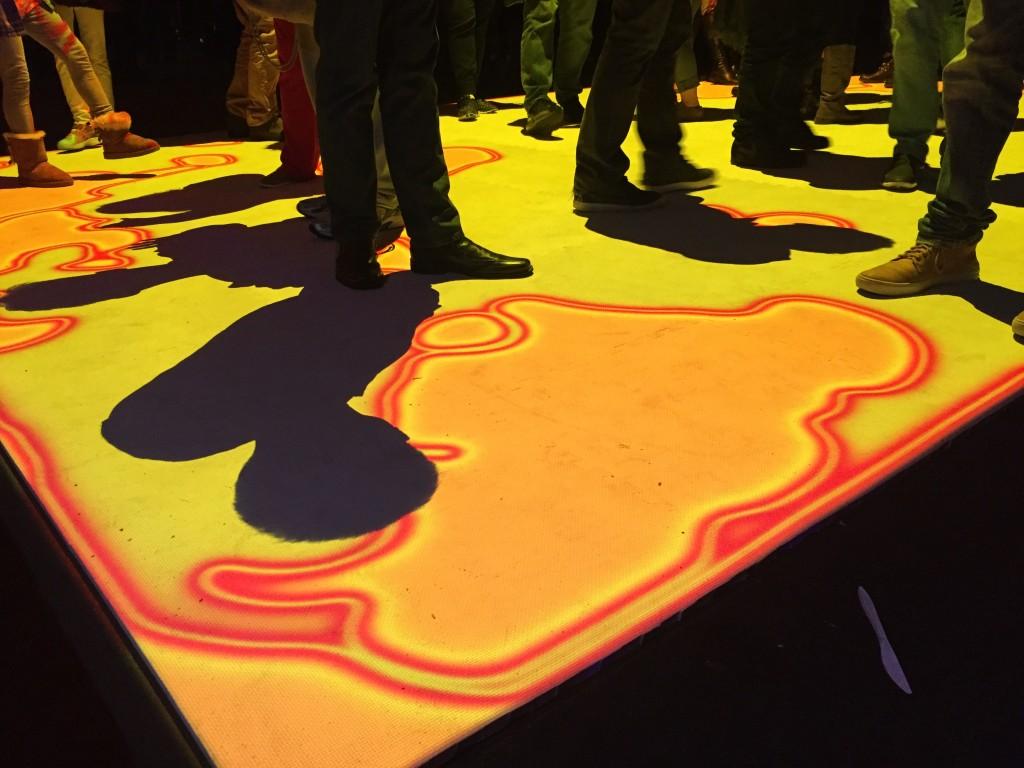 """""""Healing Pool"""" art exhibit"""