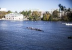BOSTON October 17, 2015 - Rowers prepare for the Head of the Charles early Saturday morning. (Photo by Joe Difazio BUNS)
