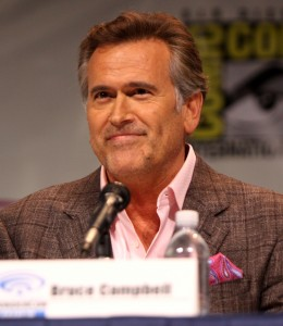 Bruce Campbell at WonderCon 2013. Photo by Gage Skidmore.
