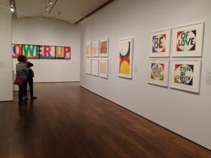 Corita Kent and the Language of Pop at the Harvard Art Museums. Photo by Mariya Manzhos