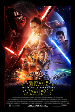 """Star Wars: The Force Awakens"" poster (Photo: Wikimedia Commons)"