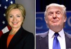 Hillary Clinton and Donald Trump (Photos courtesy of Wikimedia Commons)
