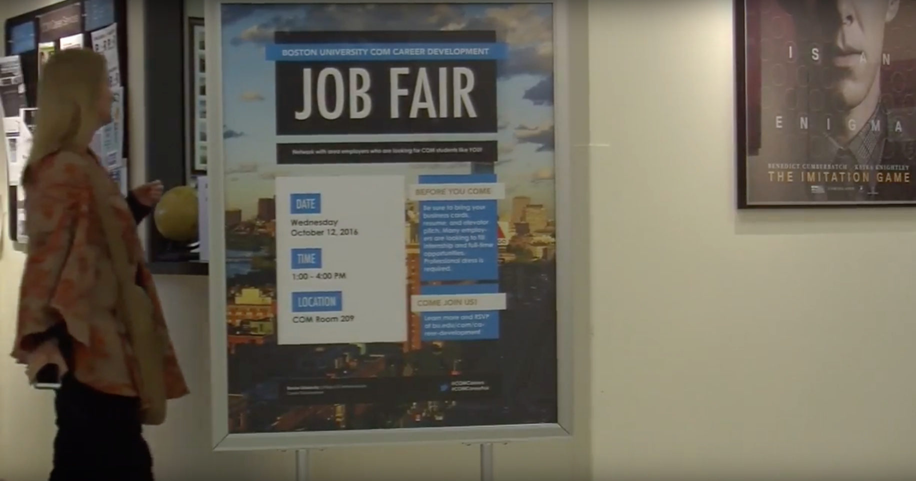 VIDEO: Career Tips and Tricks at COM Fair – Boston ... - photo#3