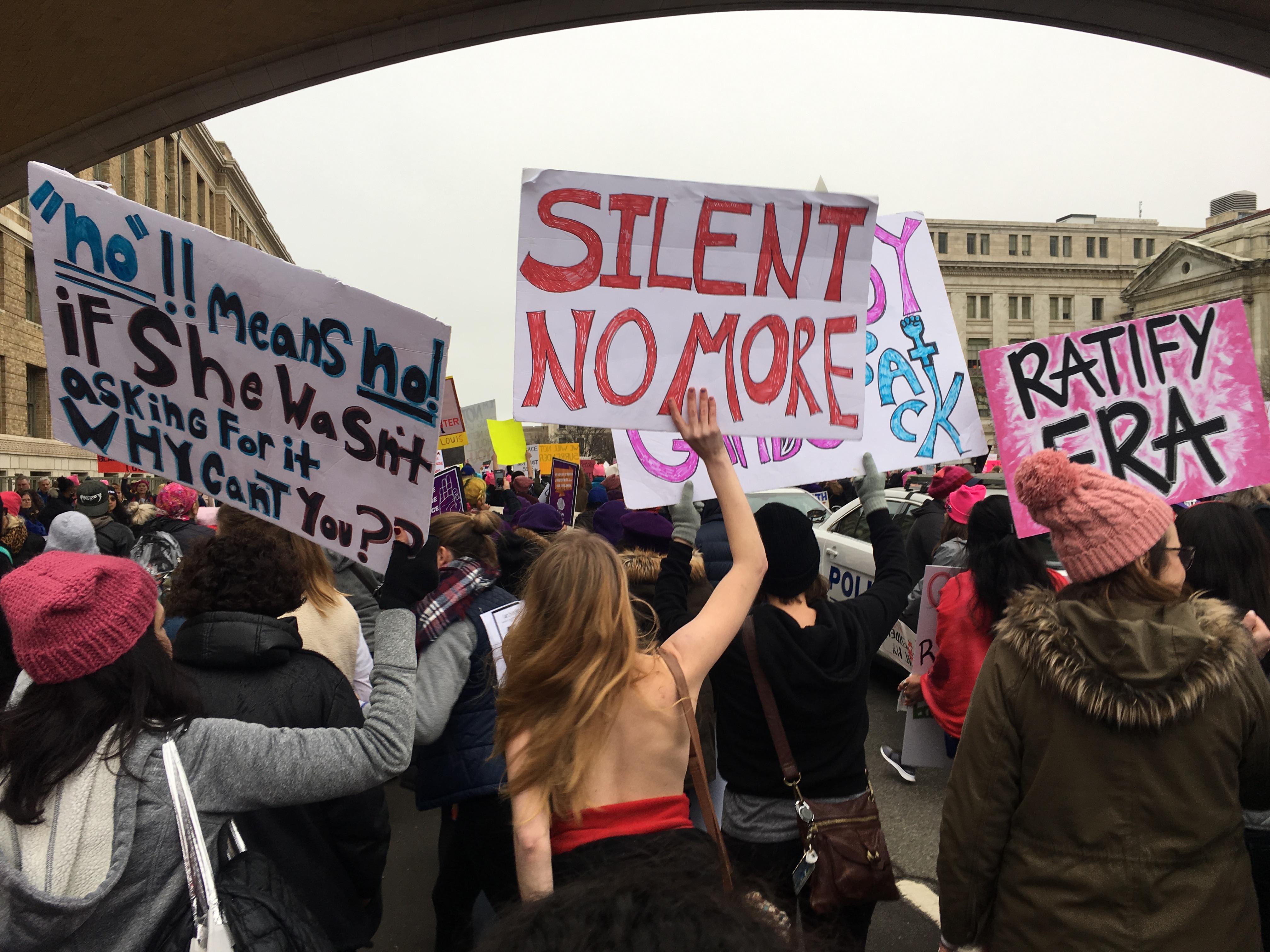 opinion boston university news service personal essay women in a sea of pink