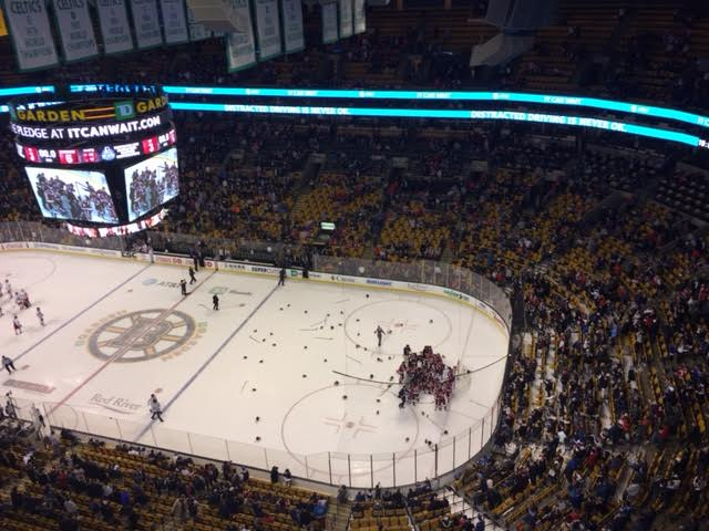 Northeastern beats Boston College 4-2 in Beanpot consolation