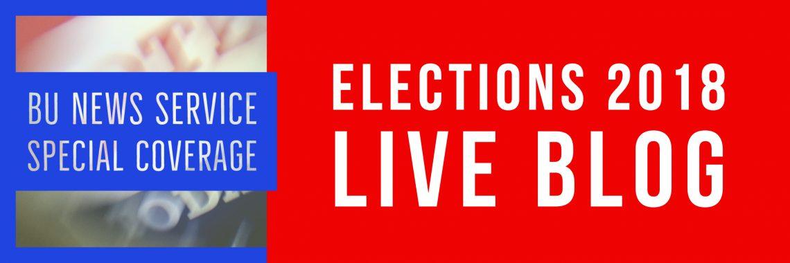 Live Blog: Elections 2018