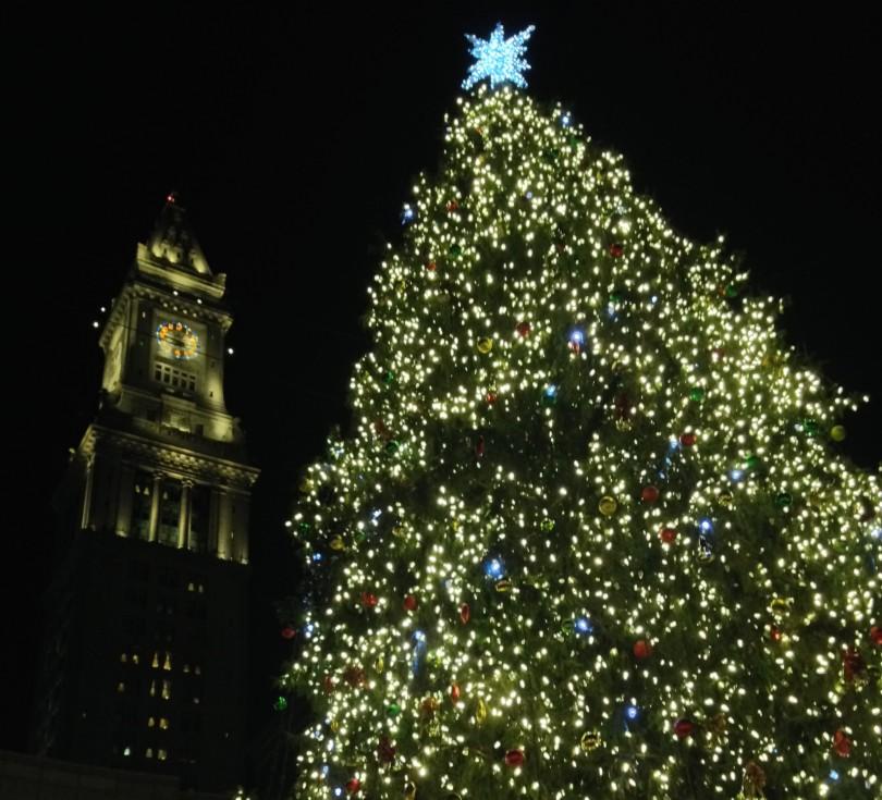 faneuil hall christmas tree lighting 2015 portland