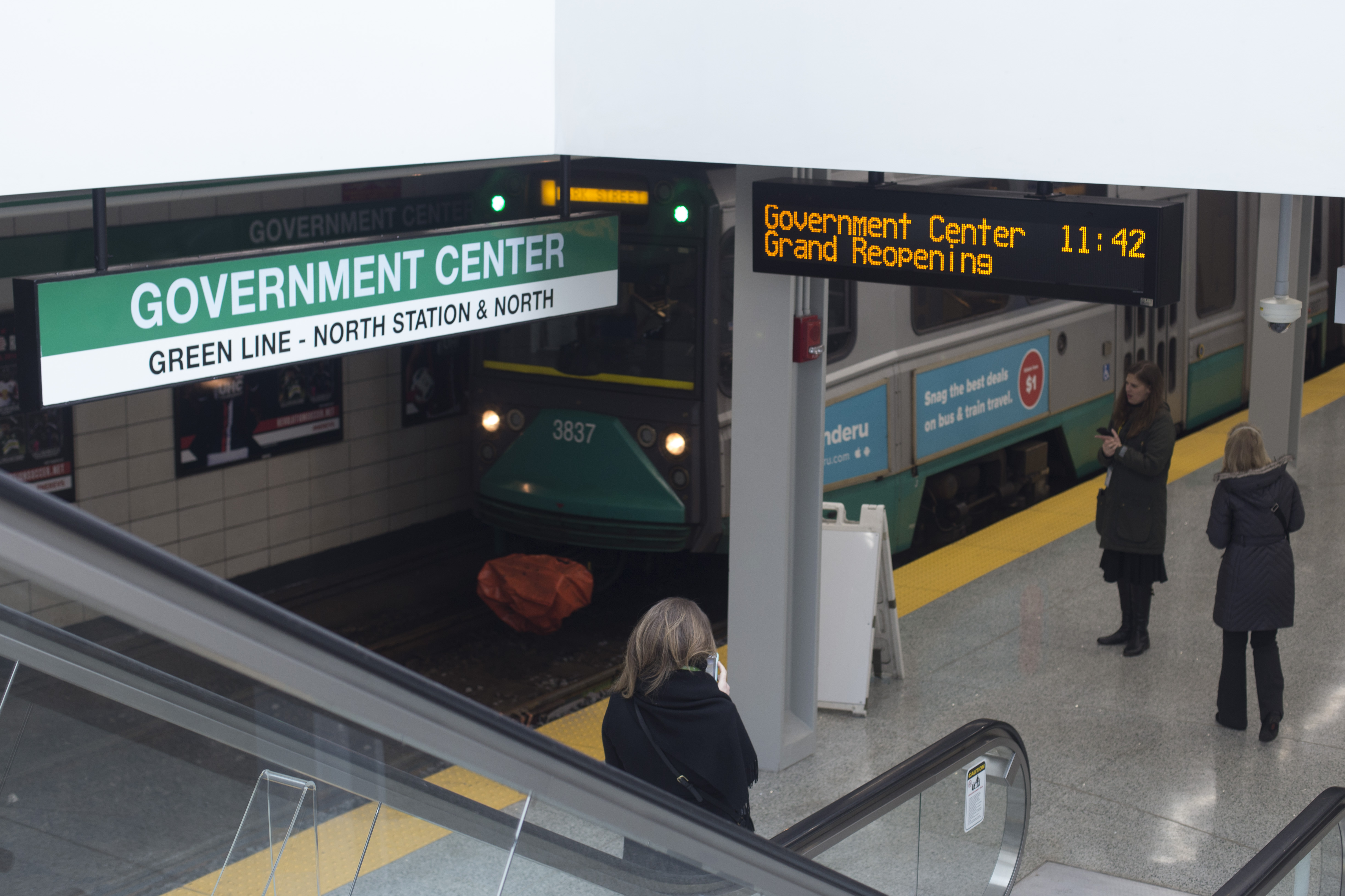 Renovated Govt  Center MBTA Station Re-Opens – Boston University