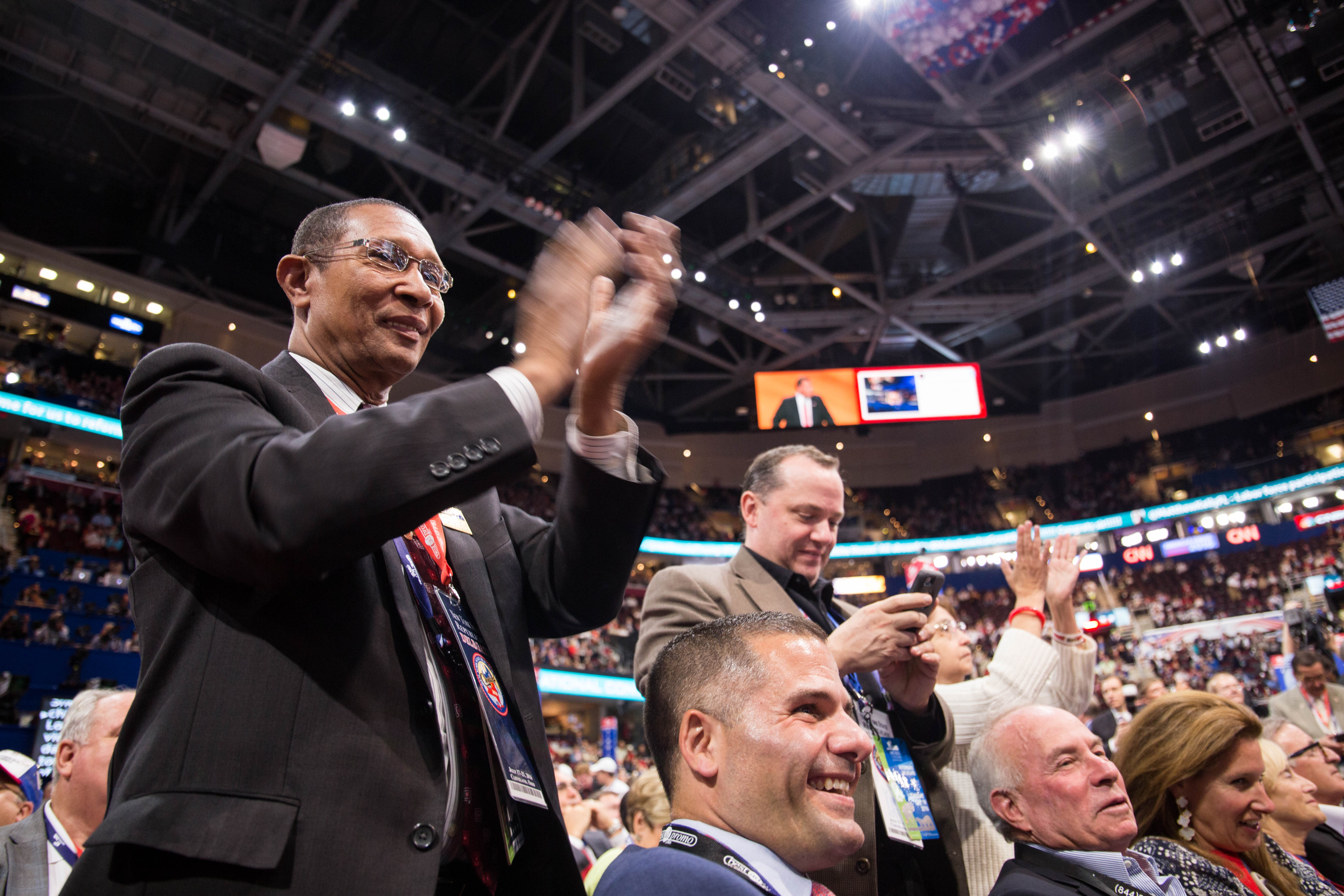 Cheers To Governor Christie >> Republican National Convention: Day Two | Boston University News Service